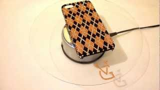 Luxury iPhone 5 Case Made With Swarovski Elements Designed in d'Elegance Pattern Thumbnail