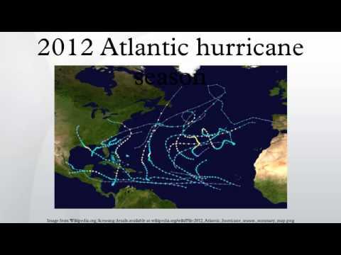 2012 Atlantic hurricane season