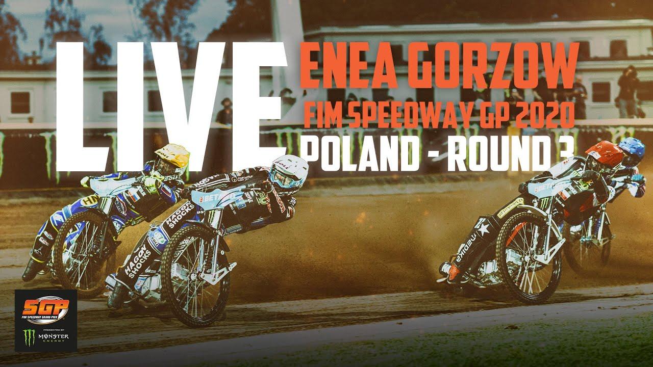 🔴  LIVE Enea Gorzow FIM Speedway GP 2020   Poland   Round 3   FIM Speedway Grand Prix