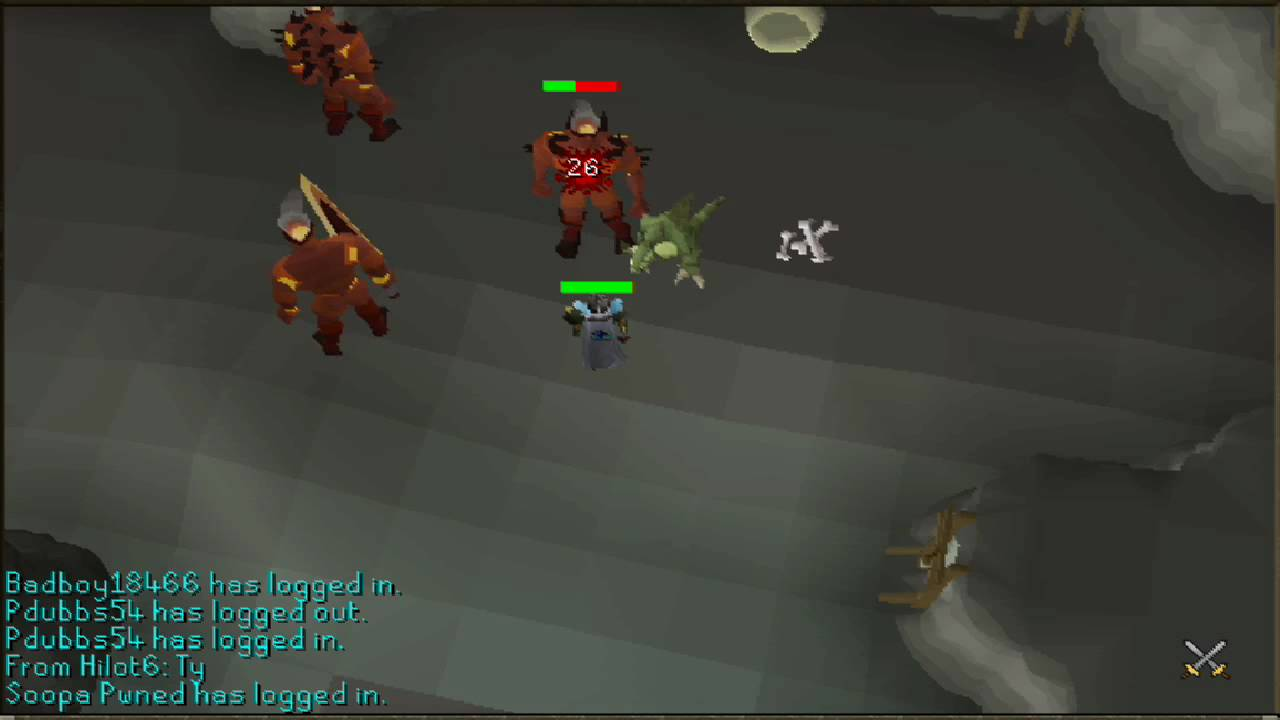 Runescape - Getting to Fire Giants in Chaos Tunnels ...