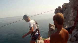Прыжки в Симеизе, скала Дива (АР Крым - август/сентябрь 2013)