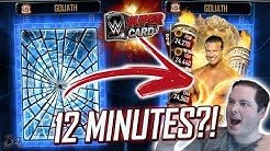 COMPLETING A TEAM EVENT IN 12 MINUTES?! | WWE SuperCard