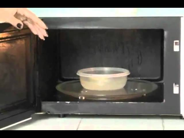 Hágalo Fácil Limpiar Microondas Rápidamente Youtube