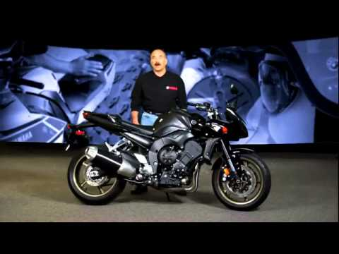 2013 Yamaha FZ1 walk around promotional video - YouTube