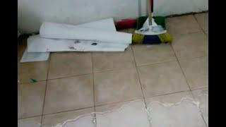 Imparables goteras afectan a estudiantes de colegio en Chiquinquirá