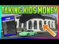 GTA 5 Online MOD MENU TROLLING TAKING KIDS MONEY 56 GTA 5 MODS