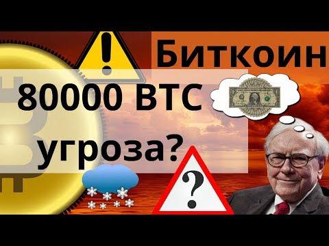 Биткоин 80000 BTC угроза? Уоррен Баффет максимально обналичивает активы