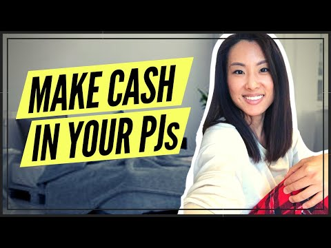6 Interesting Ways to Earn Money While Stuck At Home (MAKE CASH FROM BED IN YOUR PJs)