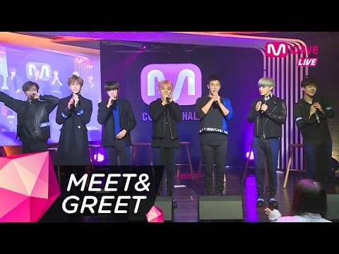 MONSTA X Performs 'White Girl' [MEET & GREET]