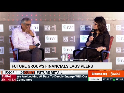 Future Group's Kishore Biyani At The Retail Leadership Summit 2019