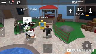 We became a murder in a robloxin #Roblox