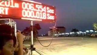 Honda Sonic Thailand Tembus 6,5 Detik 201 M