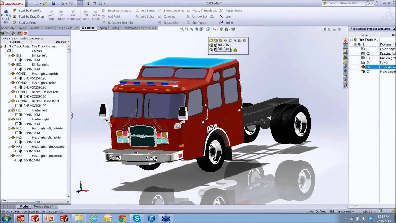Wire Harness Design With SolidWorks Electrical YouTube