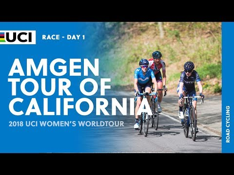 2018 UCI Women's WorldTour – AMGEN Tour of California Stage 1  – Highlights