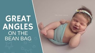 Newborn Posing | Getting GREAT angles on the beanbag