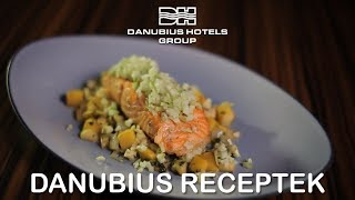 Danubius Receptek - Lazac almával és mangóval - Danubius Hotels Group