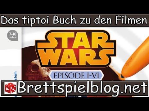 tiptoi® Star Wars (TM) Episode I-VI im Test von Brettspielblog.net