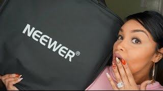 NEEWER RING LIGHT UNBOXING| REVIEW