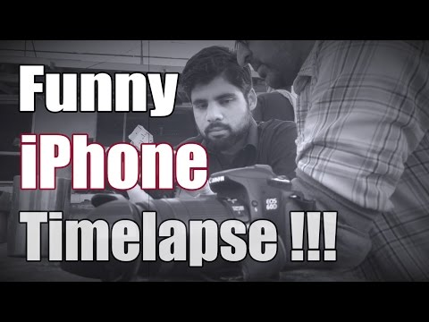 A Funny iPhone Timelapse Travel Video - Just for FUN