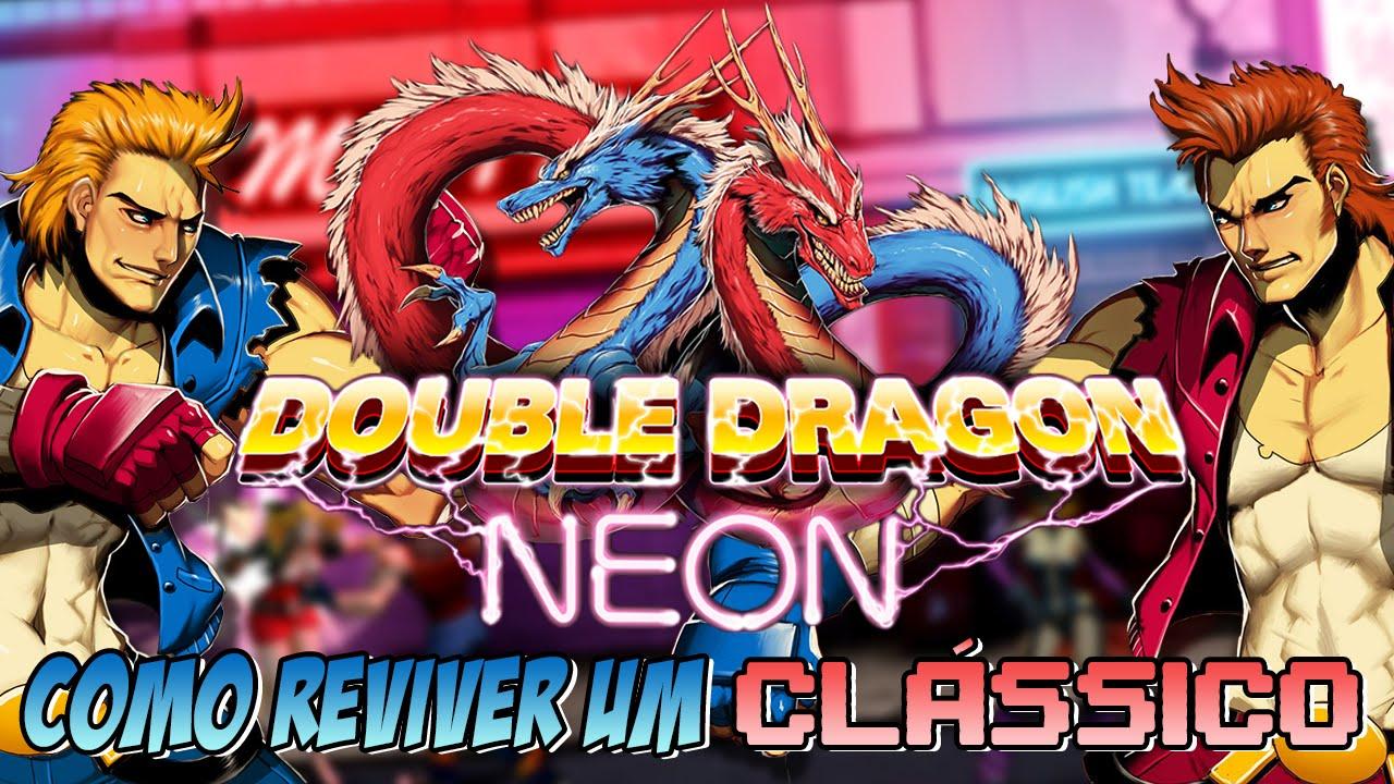 Double Dragon Neon Revivendo Um Classico Review Youtube