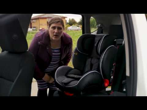 Ickle Bubba Solar Group 1 2 3 Isofix and Recline Car Seat