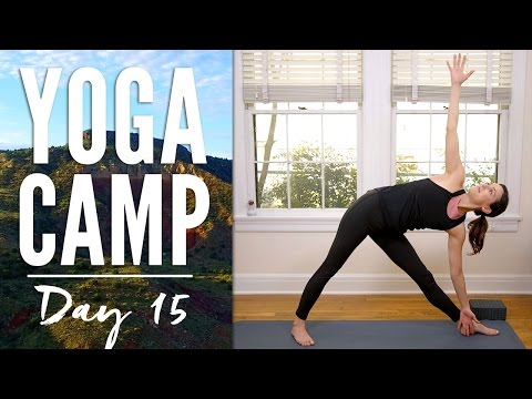 Yoga Camp - Day 15 - I Am Open