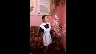 Школьная форма СССР с коротким рукавом