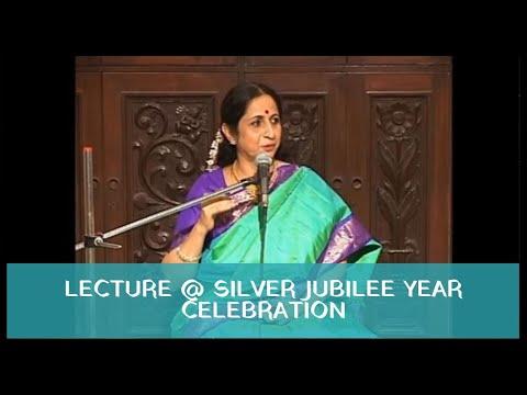 Aruna Sairam - Lecture at Sruti Magazine 2008