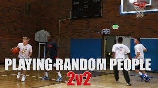 Playing random people 2v2