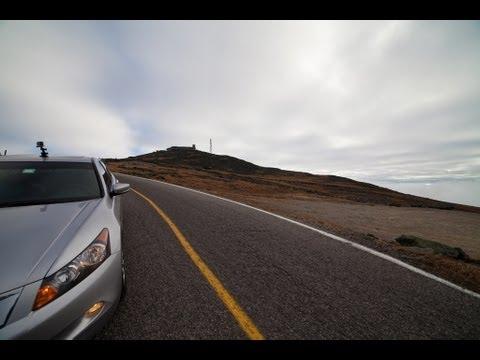 Mount Washington Auto Road Driving in 8min