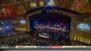 The GOP candidates give their closing statements at the second Fox Business GOP debate