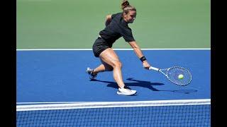 Maria Sakkari vs. Camila Giorgi | US Open 2019 R1 Highlights