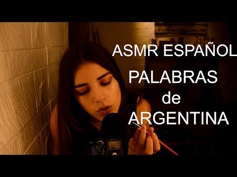 ASMR Español Argentina|Palabras De Argentina Y Brushing
