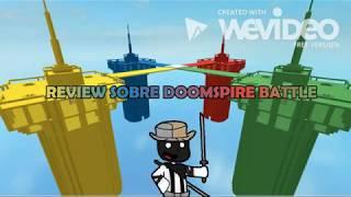 ¿Doomspire Battle es una basura?|Review sobre juegos de roblox|Doomspire Battle