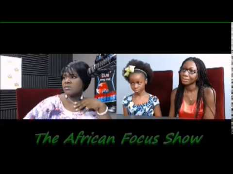Tiffany   9 years old designer featured @ African Focus Show