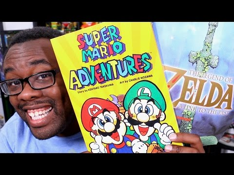 SUPER MARIO ADVENTURES + ZELDA Link to the Past - Nintendo Power Comic Books