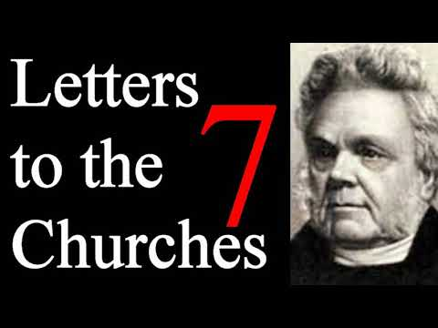 Letters to the 7 Churches - John Angell James / Christian Audio Books