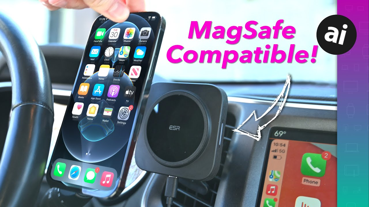 Hands on with first MagSafe-compatible car charger from ESR