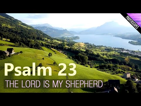 Psalm 23 Prayer Reading The Lord Is My Shepherd Youtube