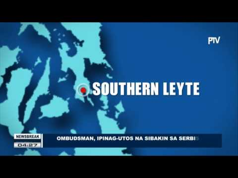 NEWS BREAK: Ombudsman, ipinag-utos na sibakin sa serbisyo si Southern Leyte Gov. Mercado