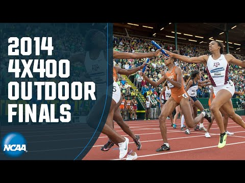 Women's 4x400 - 2014 NCAA Outdoor Track And Field Championship