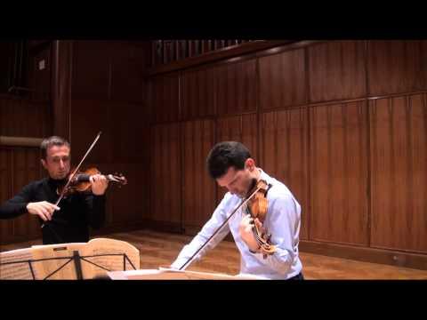 YSAYE -  2 violins sonata, part 1, Tedi Papavrami Svetlin Roussev