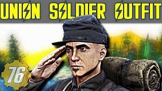 Union Soldier Uniform Rare/Unique Outfit Guide - Fallout 76
