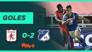 América vs. Millonarios (0-2) | Liga BetPlay Dimayor 2020 - Fecha 18