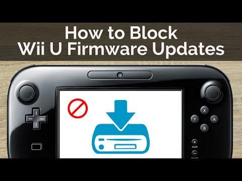 How To BLOCK Wii U Firmware Updates