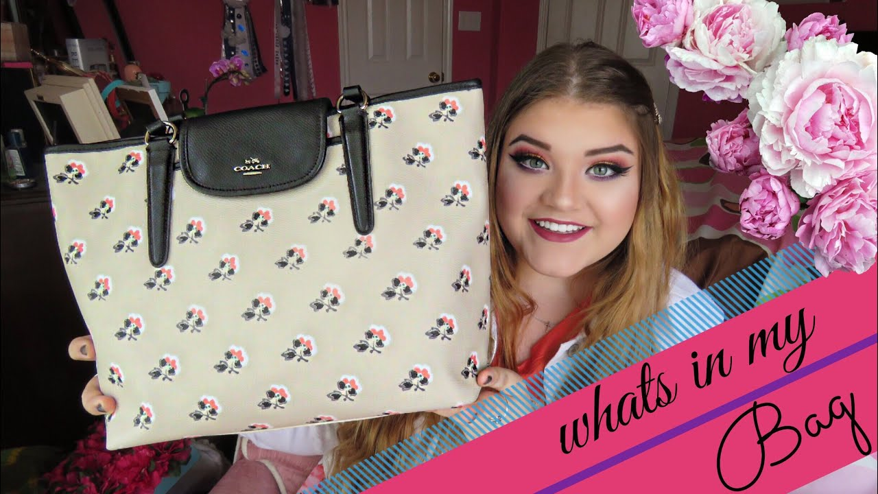 Whats In My Bag Tag 2015 Spring Coach Purse Youtube