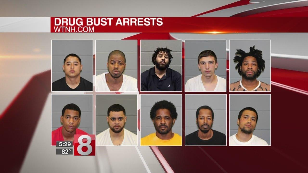 Federal agents make drug bust in Waterbury