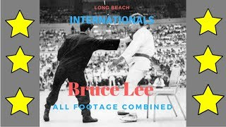 Bruce Lee 1964/67 International Karate Championships all footage combined