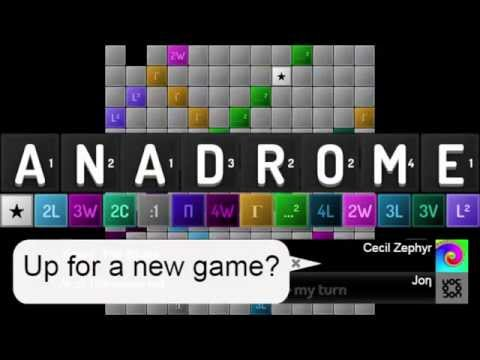 Anadrome: A New Spin on an Old Game