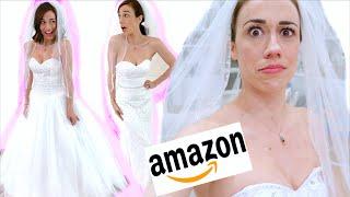 trying-on-weird-amazon-wedding-dresses